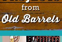 Dise barriles / Barriles