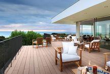 Deck / Deck para exteriores, pavimentos de madera para jardines, piscinas, terrazas, espacios abiertos...