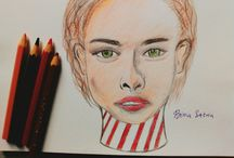 Art, Color Pencil Drawing
