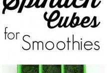 Recettes de smoothie vert
