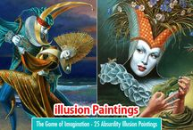 25 Illusion Paintings by Michael Cheval - Part II