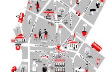 stad plattegrond