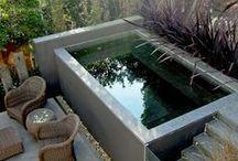 zahradní bazénky