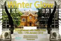 WInter Glow Yoga Retreat @ Poundon House with Saskia Price / We are very excited to be hosting a Yoga Retreat 15 - 17th January at Poundon House with Saskia Price.