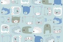 Patterns / Cute artistic hand drawn and great designed patterns and wallpapers