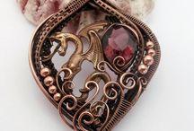 wireholic / wirewrapped jewellery