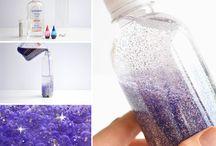 Glitterflaskor