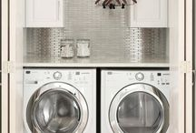 Laundry Room Inspiration / Beautiful images of laundry rooms to give you inspiration to design your own.