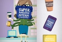 Internship tips / Discover how to become a successful intern, one pin at a time