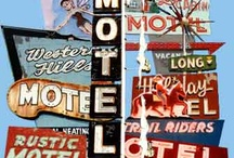 ROADSIGNS DINERS AND MOTELS / by Helene Testud