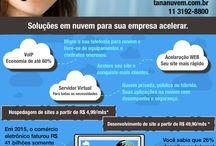 Cloud Services / Soluções em nuvem. Utilização mais consciente da tecnologia.