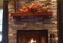 Dream Fireplaces / Home or hotel fireplaces nooks and cosy settings