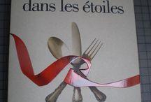 Lire, Cuisiner.../ Reading and Cooking / Livres autour de la gastronomie.