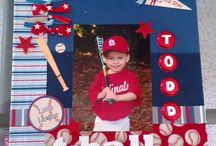 Softball,Baseball,and T-ball / by Holly Moreno