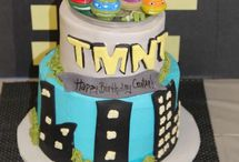 Gabriel super hero ninja turtle party / by Amy Griffin