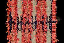 fiber art / weaving/crochet/knitting/felting