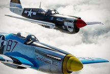 War birds / war planes from all around the world
