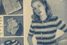1940s  and 1950s womens magazines / vintage 1940s and 50s womens magazines
