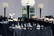 Black tie decor