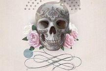 Skull..feminin..!! / J'adore les têtes de mort...pourtant je suis loin d'être morbide mais là j'adore