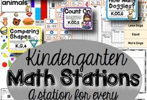 Kindy math Centers