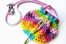 crochet bag&purse / by jennyandteddy