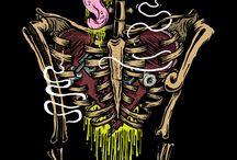 esqueletos dibujos