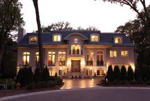 French Chateau / French Provincial Exterior and Interior