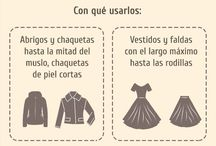guía de zapatos con ropa