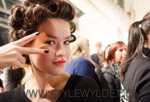 Backstage at New York Fashion Week AW 2014 / All the fun, behind-the-scenes shots from New York