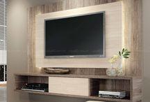 TV vegg