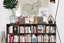 Bibliothèques / Des idées de bibliothèques, pour ranger ses précieux livres tout en décorant son appartement