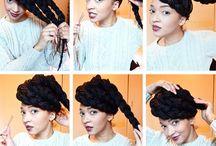 hairstyle Black