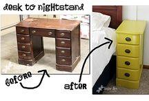 Ombygde møbler