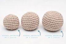 esferas crochet