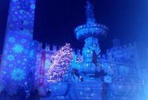 NATALE  e dintorni: ecco come si decora la città! / Le città e le loro decorazioni natalizie!