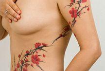 Tatouage Cerisiers