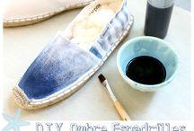 Customiser ses espadrilles / Once a DIY