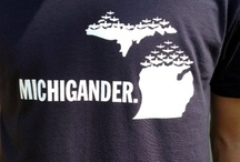 Michigan Wearables / Michiganders are proud of our great Mitten state. We wear it with pride in a multitude of fashions.
