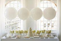 Reception table arrangements