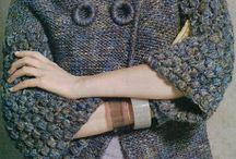 PONCHOS and JACKETS: knitting patterns