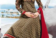 Cotton Anarkali Suits / Beautiful Cotton Anarkali Suits with embroidery
