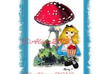 Printable Card AlisaRamirez / My Artwork made into printable cards.  For personal use not for resale or redistribution.