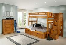 BUNK BEDS WITH STAIRS / Mom's Bunk House offers an exciting selection of Bunk Beds with Stairs for Kids. With dozens of bunk beds to choose from, you're sure to find the perfect bed for your boys or girls.