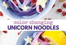 Unicorn Food! / Gorgeous fun and pretty ideas for unicorn themed food - unicorn recipes, unicorn food tutorials and other fun unicorn food ideas!