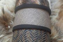 abats-jours sur mesures. peaux.cuirs.draps de laine.imprimés