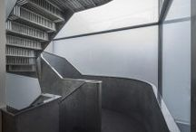 Project | Wrights Road Interiors / Creative stairs to commute up and down upon & bath rm references.