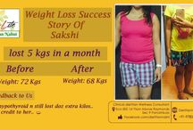 Success story of weight loss