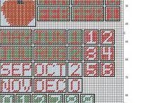 Plastic Canvas Calendars