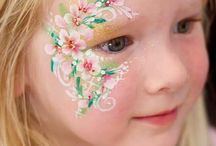 Flower Facepainting